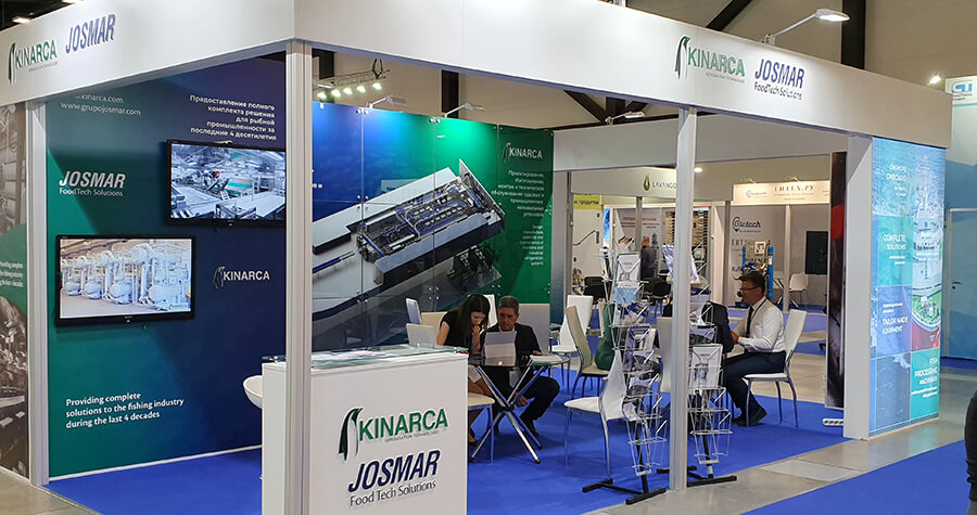 "JOSMAR® participó en la feria internacional ""II Global Fishery Forum & Seafood Expo Russia"" 2019"