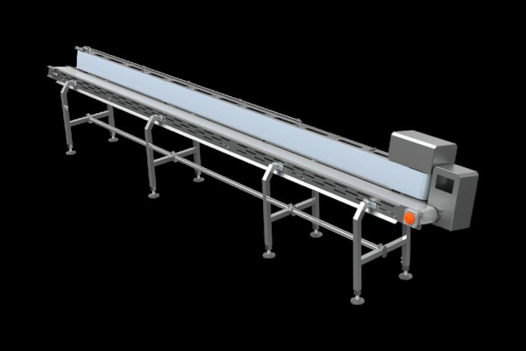Transportador horizontal en V