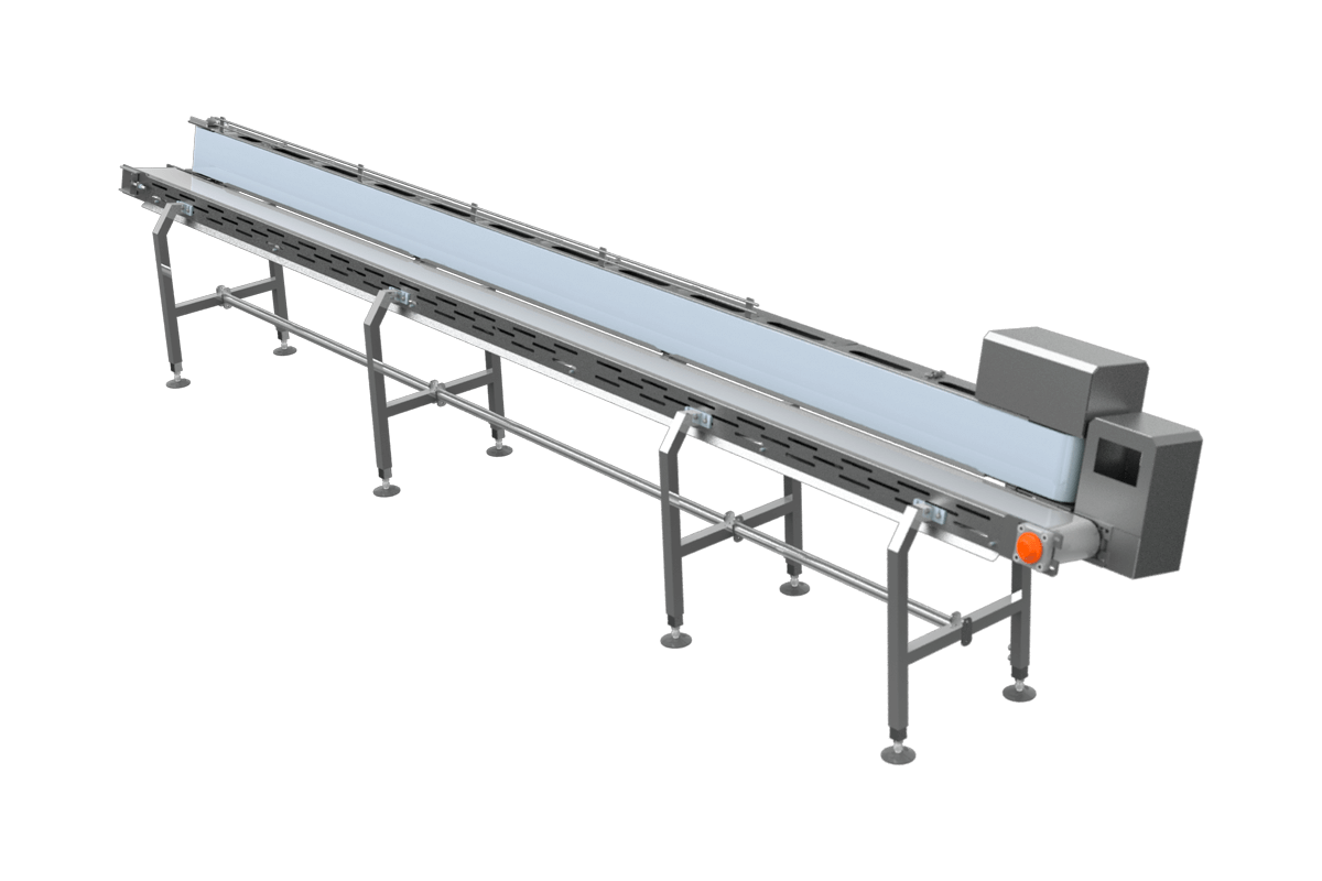 V-shaped conveyor