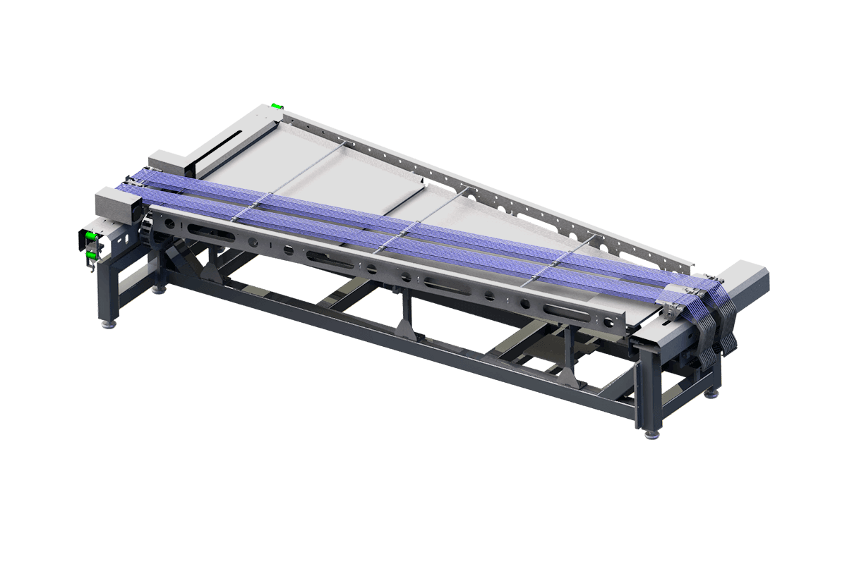 Product alignment conveyor