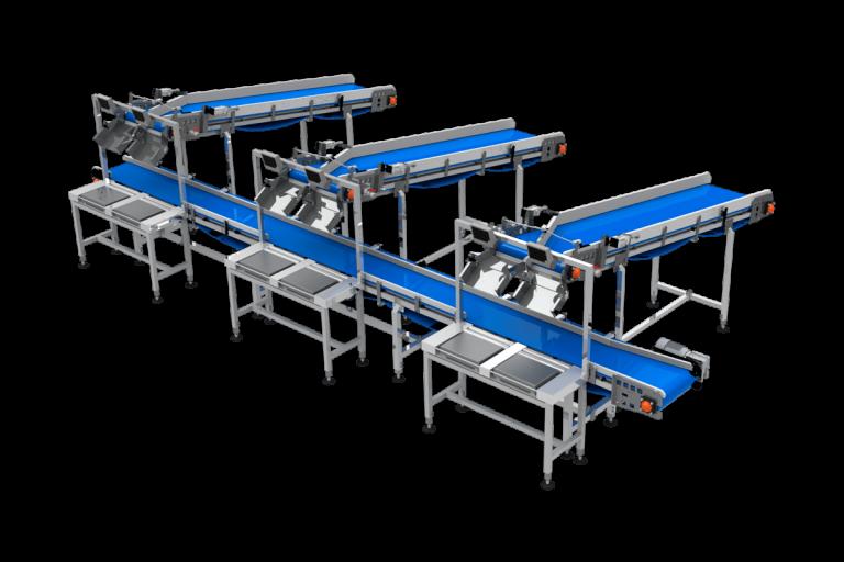 Sistema de pesaje semiautomático