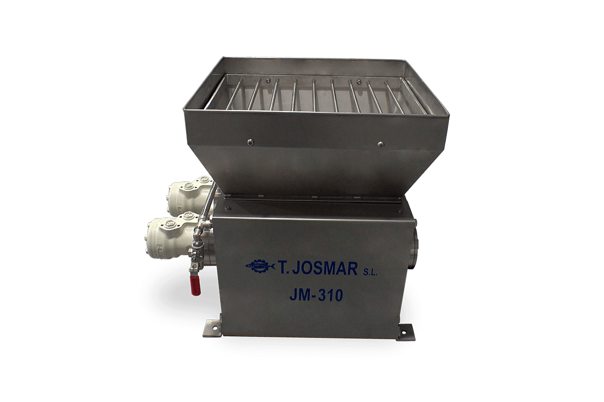 JM-310 - Fine-Grinder machine with double blade roller